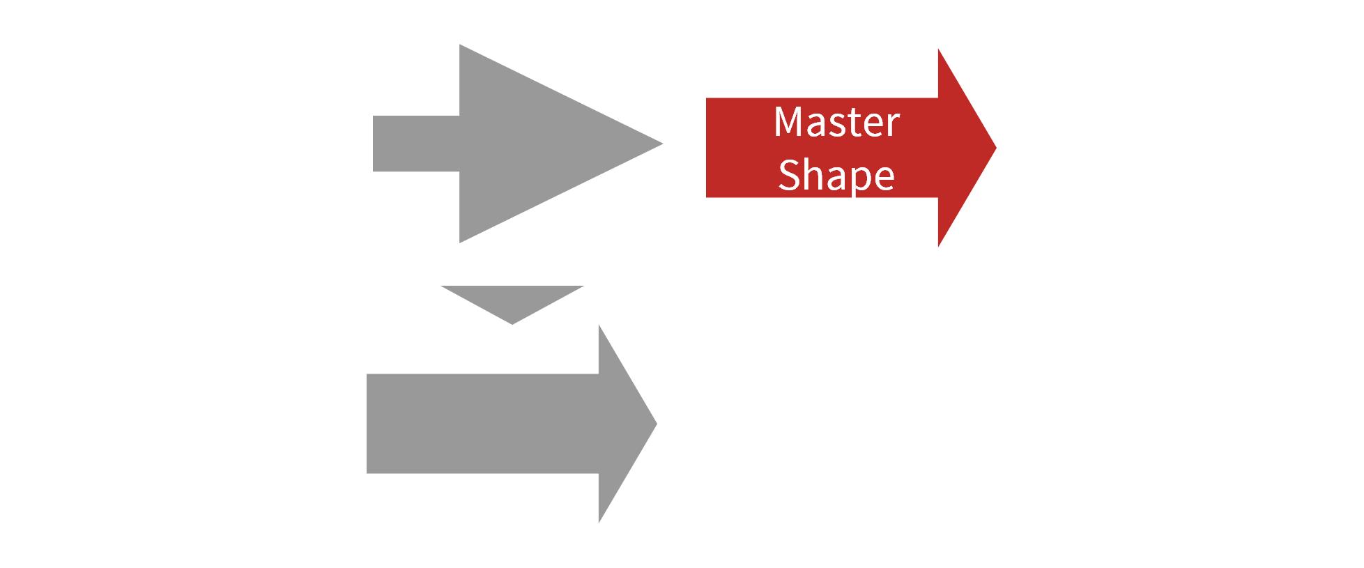 Align Block Arrow