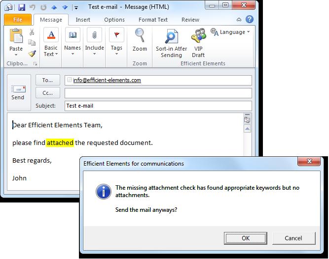 Efficient Elements for communications - Efficient Elements